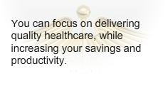You can focus on . Increase your saving and productivity